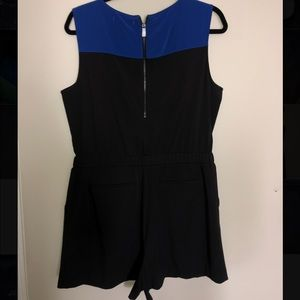 Gorgeous Black and Blue Romper